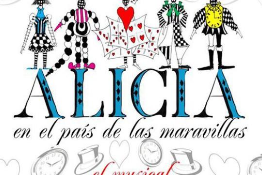 Cartel Alicia en el País de las Maravillas